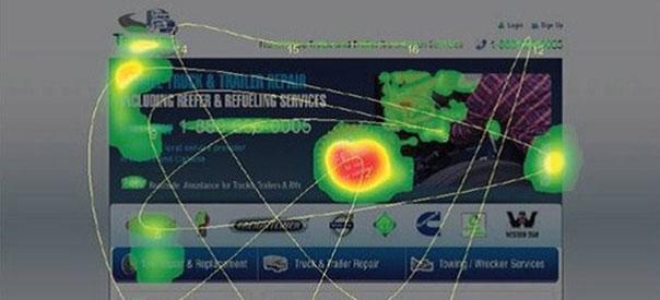 Imagen que muestra un mapa de calor con seguimiento del ratón