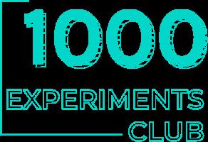 1000 Experiments Club Logo