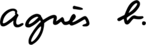 Agnès b. logo