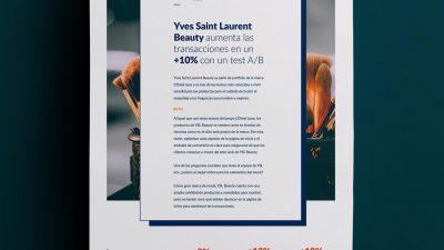 Caso de éxito Yves Saint Laurent