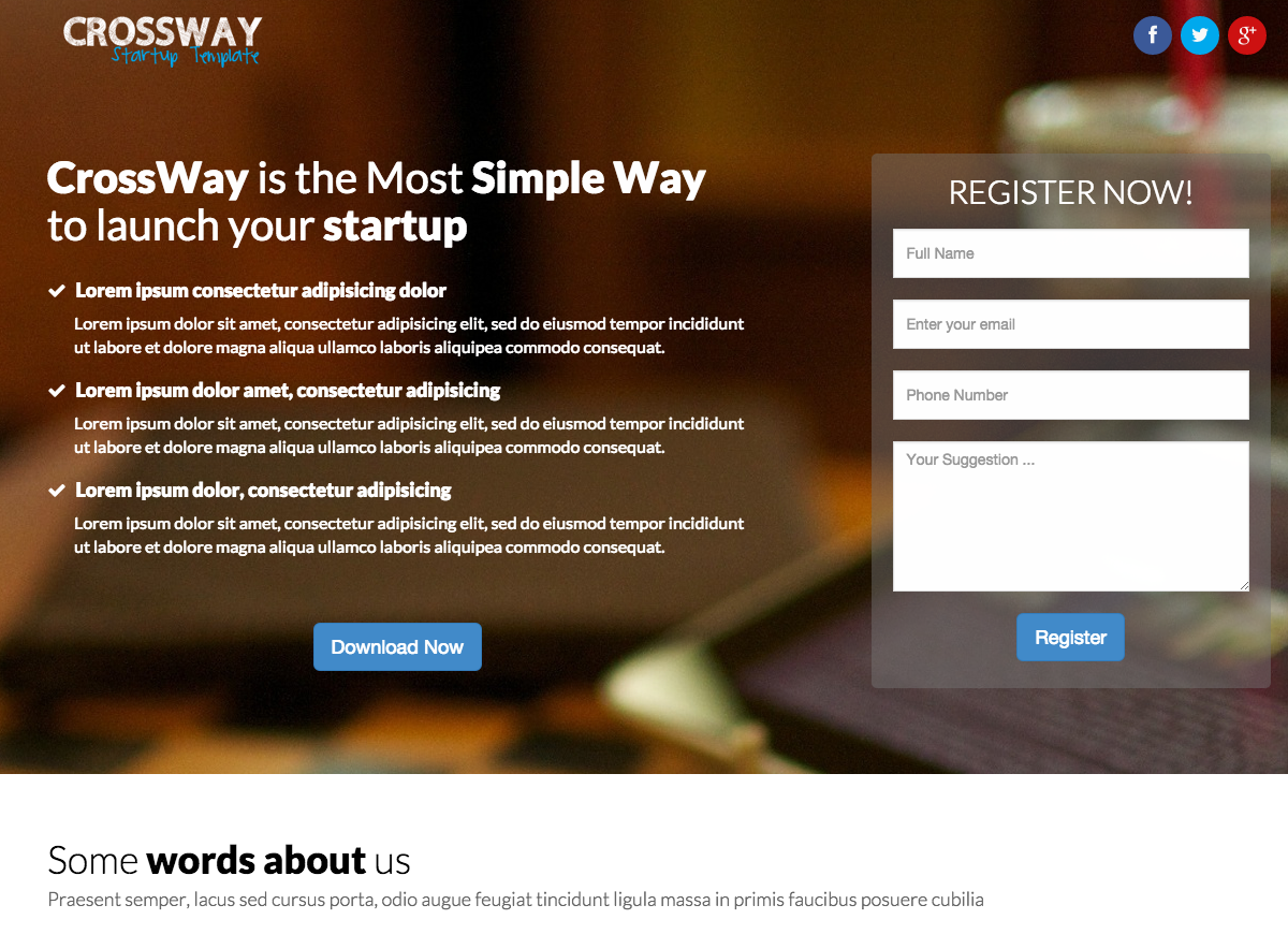 Examples Of Landing Pages Built For Lead Generation