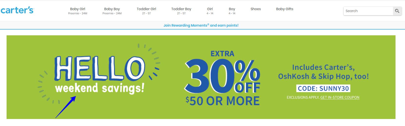 Discount urgency