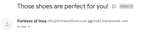 Fortress of Inca_ triggering happiness through email subject line