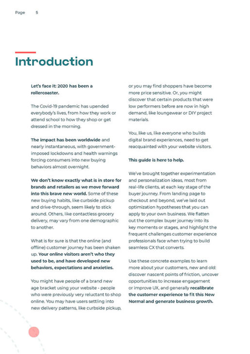 Get (Re)Acquainted With Your Customers' Journey Page 4