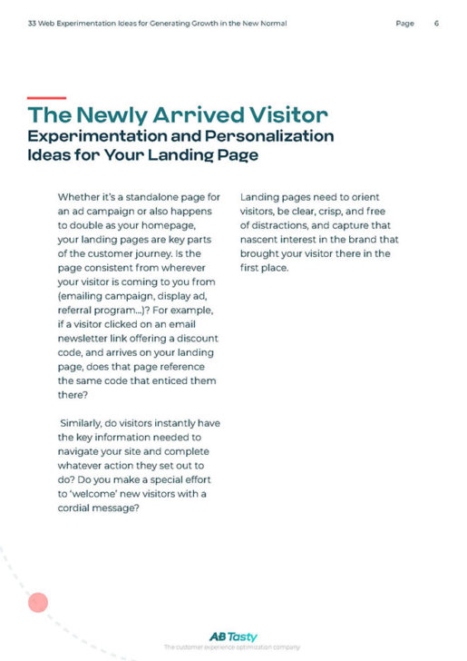Get (Re)Acquainted With Your Customers' Journey Page 6