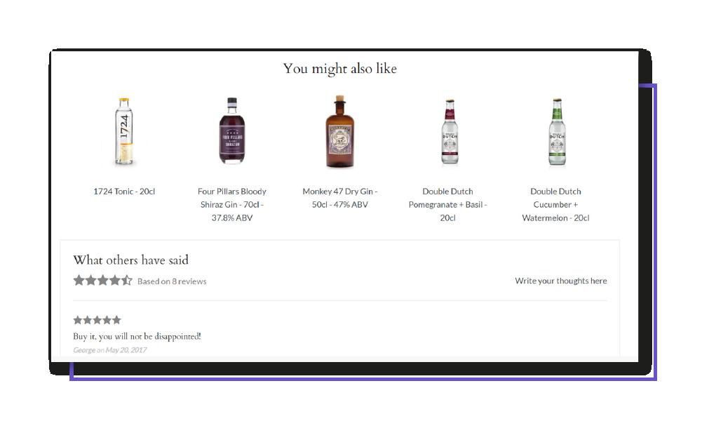 Gin Kiosk website optimization case