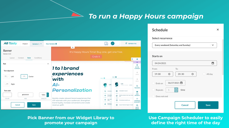 Happy Hours Kampagne