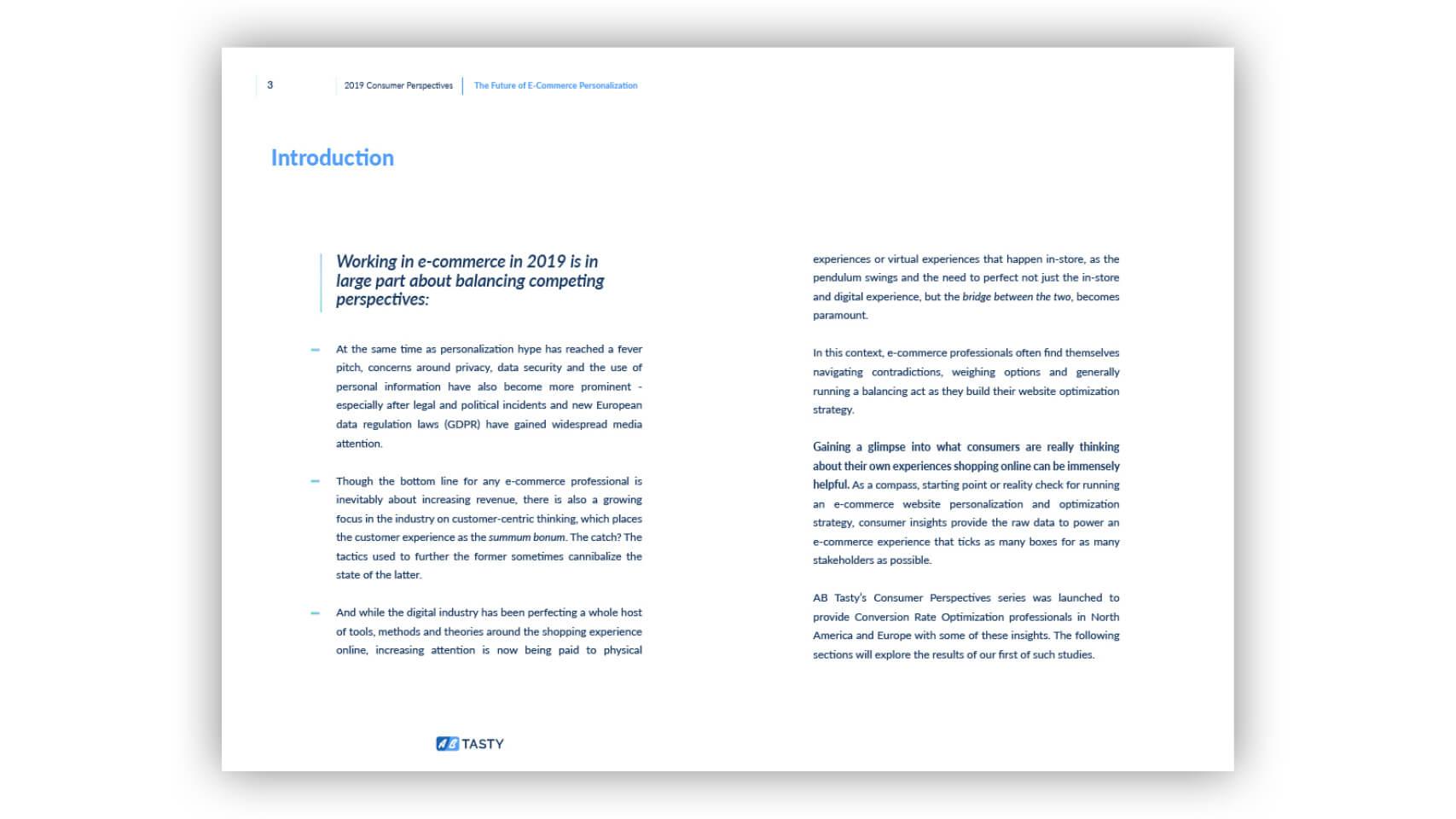 Future Ecommerce Personalization study