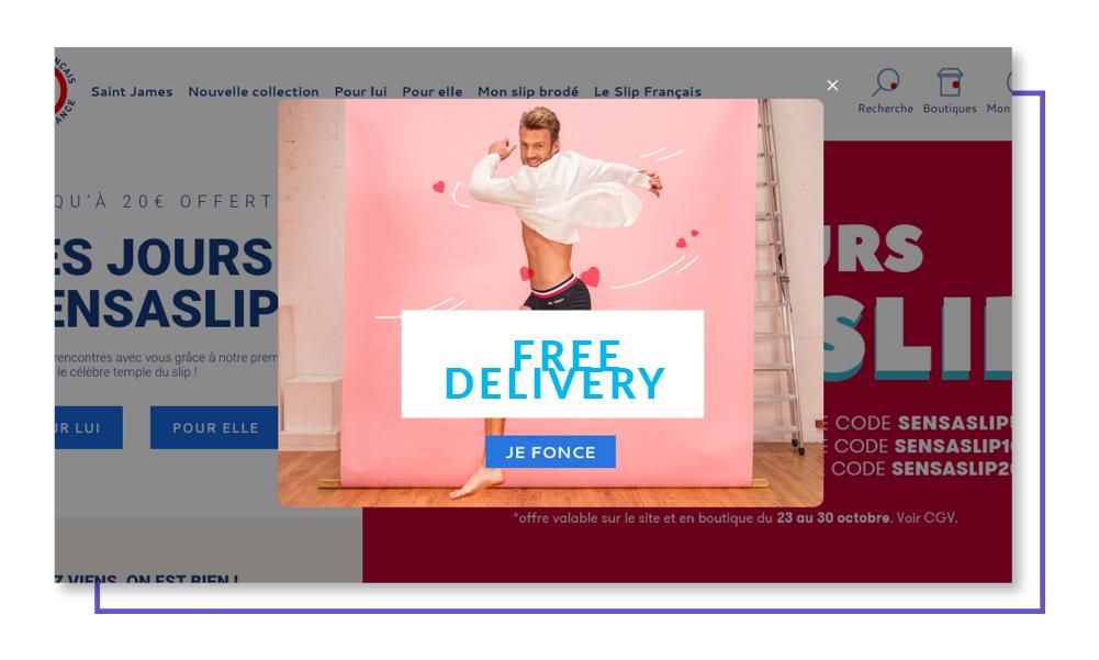 Le Slip Français website optimization case