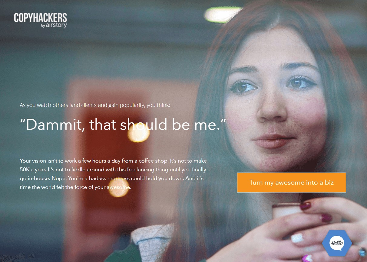 Nail the landing page