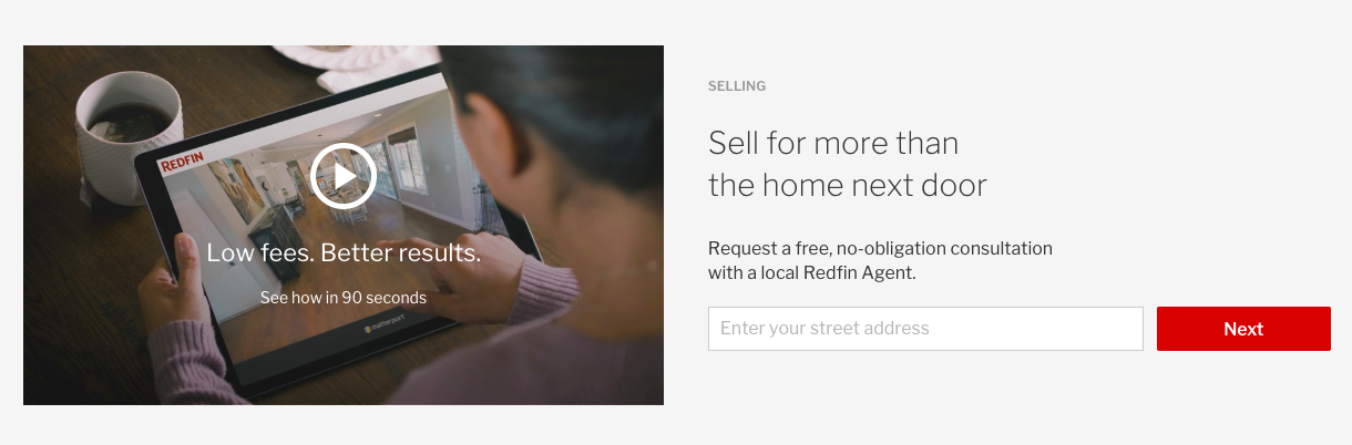 Redfin form