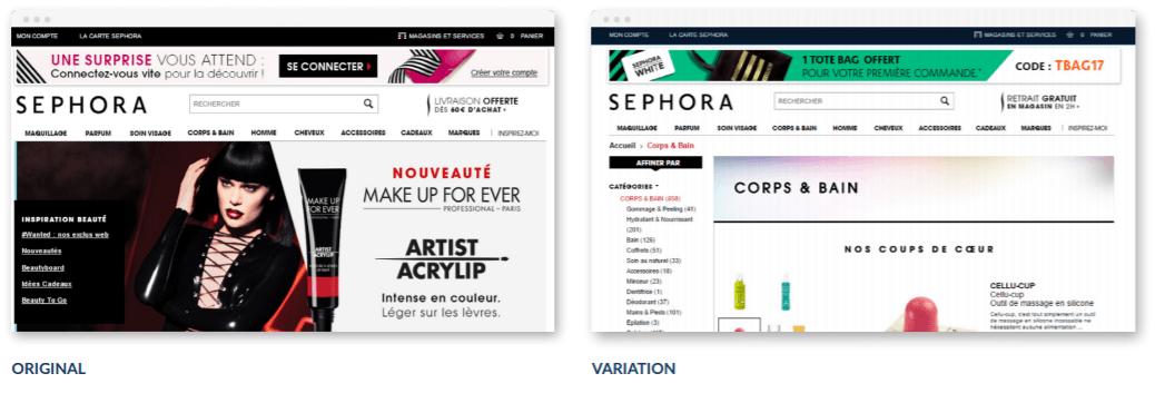 Sephora personalization