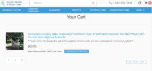 Serenity-Cart-page