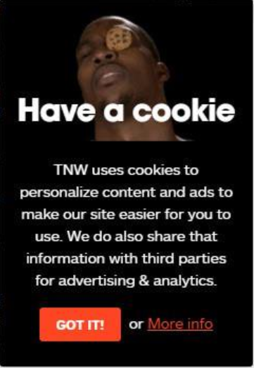 Cookie policy TNW