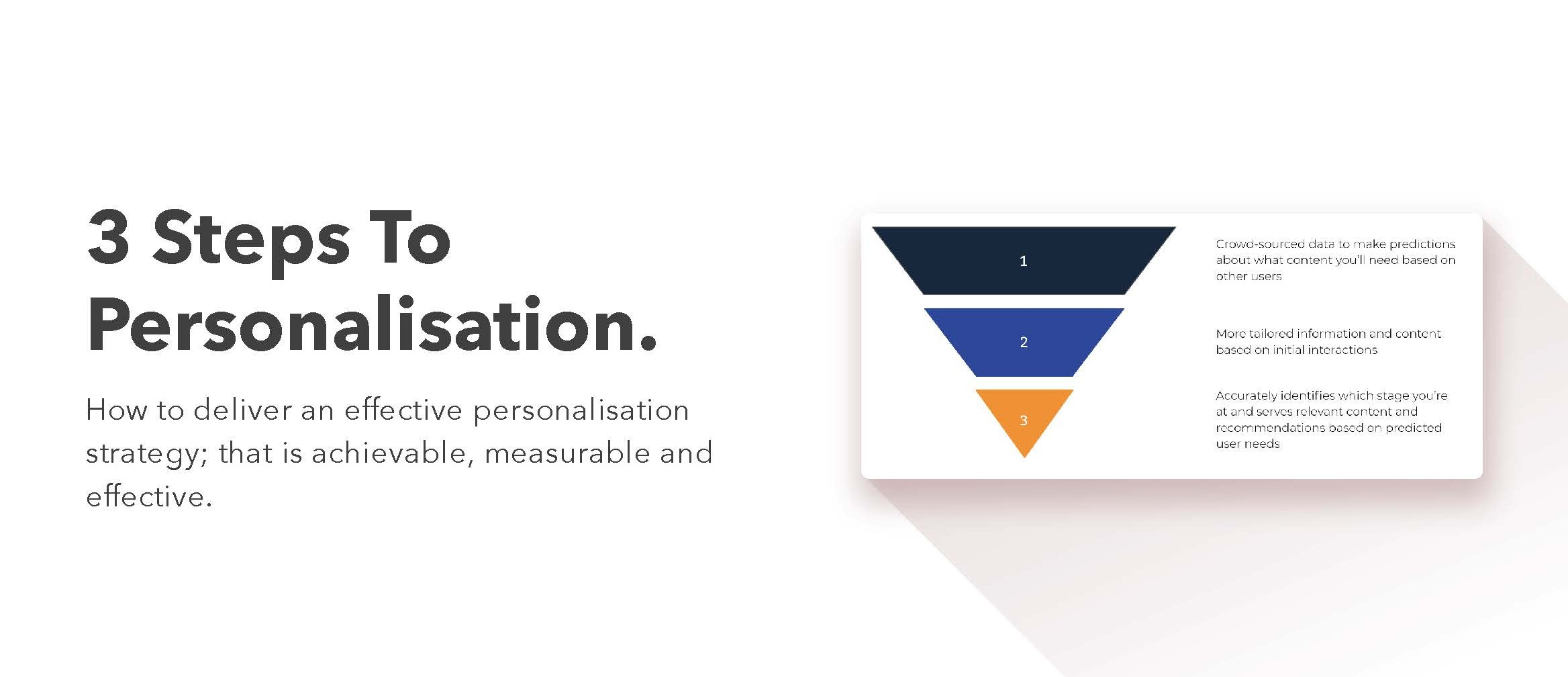 UC three steps personalization