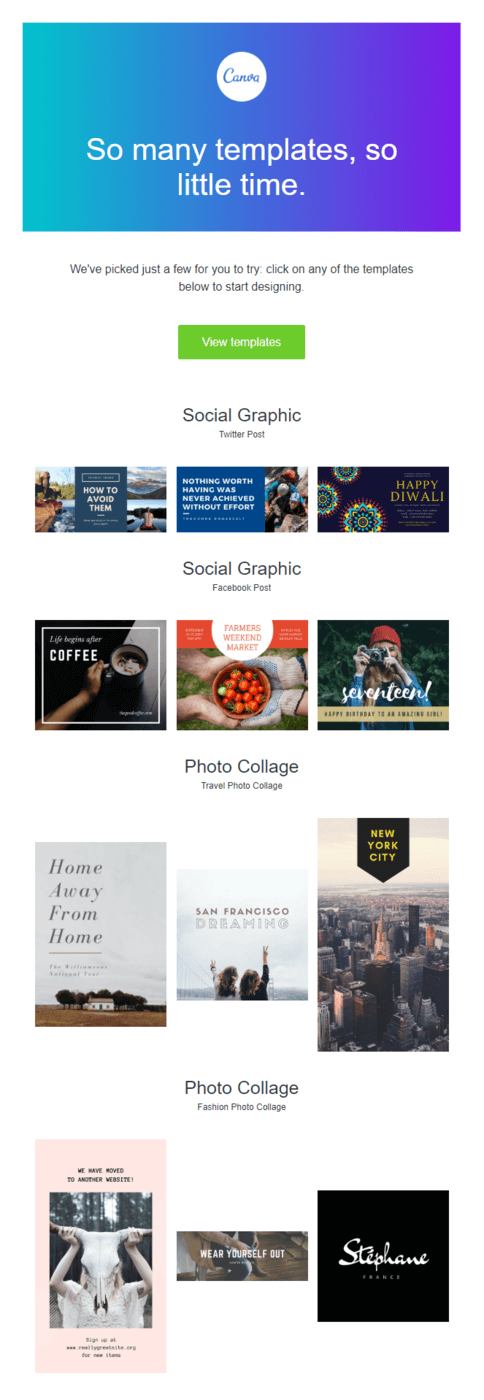 Use of negative space on Canva email design (1)