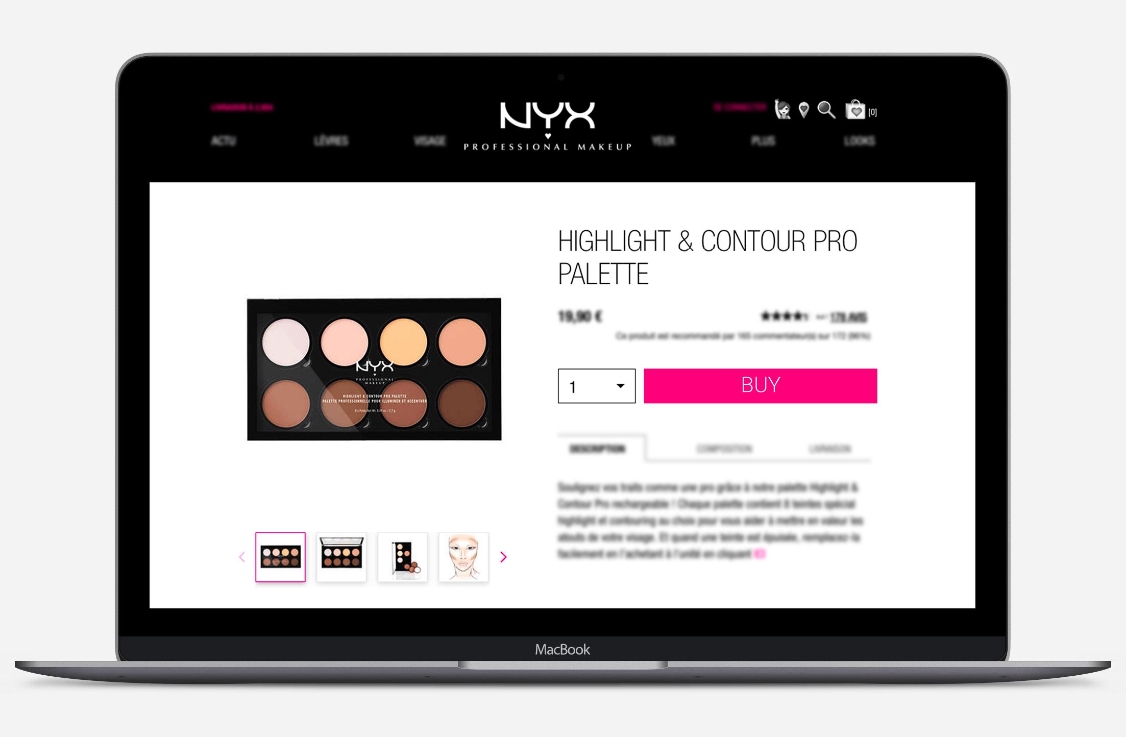 NYX professional makeup PNG original version