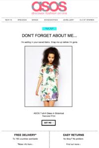E-Mail wie reduziere ich Warenkorbabbrüche