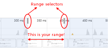 range selector