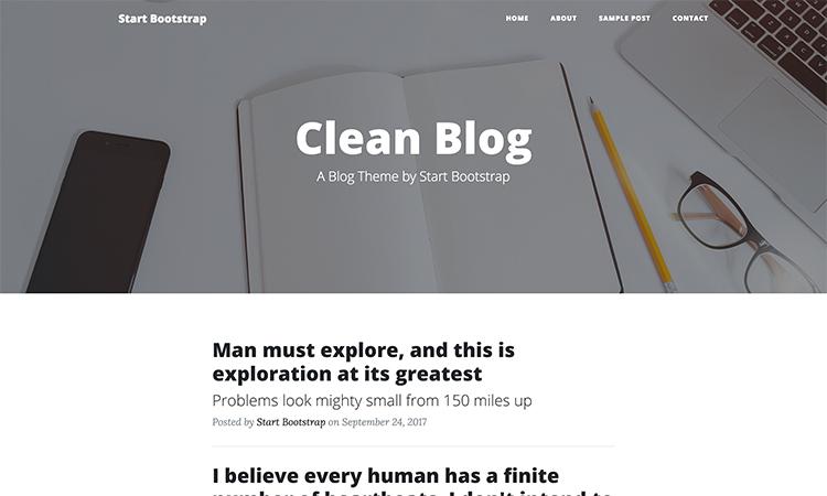 15 Templates Bootstrap Gratuits De Landing Pages