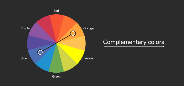 color wheel complementary
