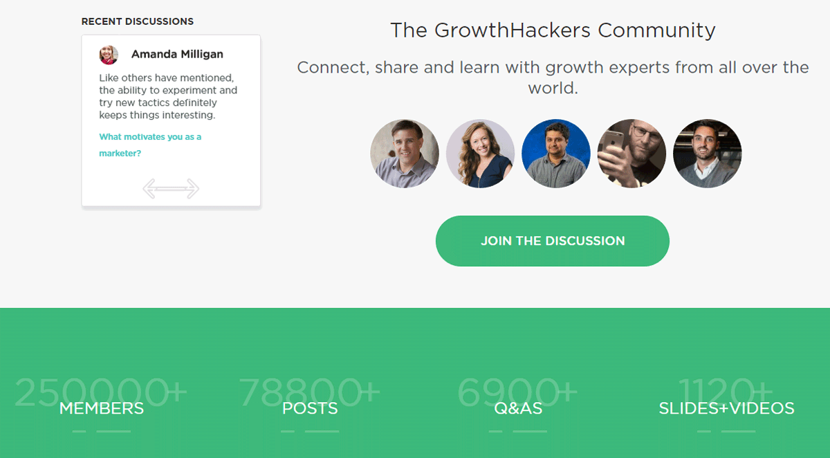 Landing Page Design Growth Hackers