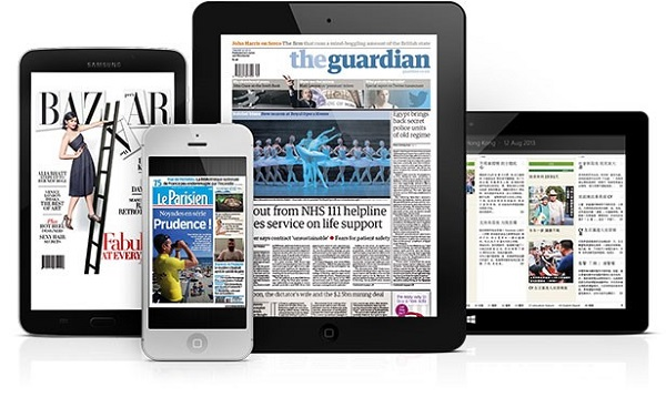 Digital newspaper