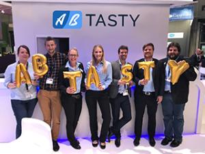 Das AB Tasty Team auf der dmexco 2017