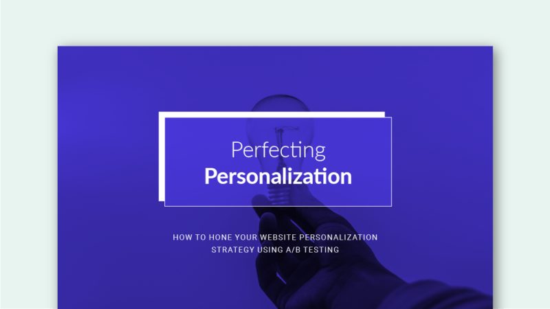 Perfecting Personalization Ebook
