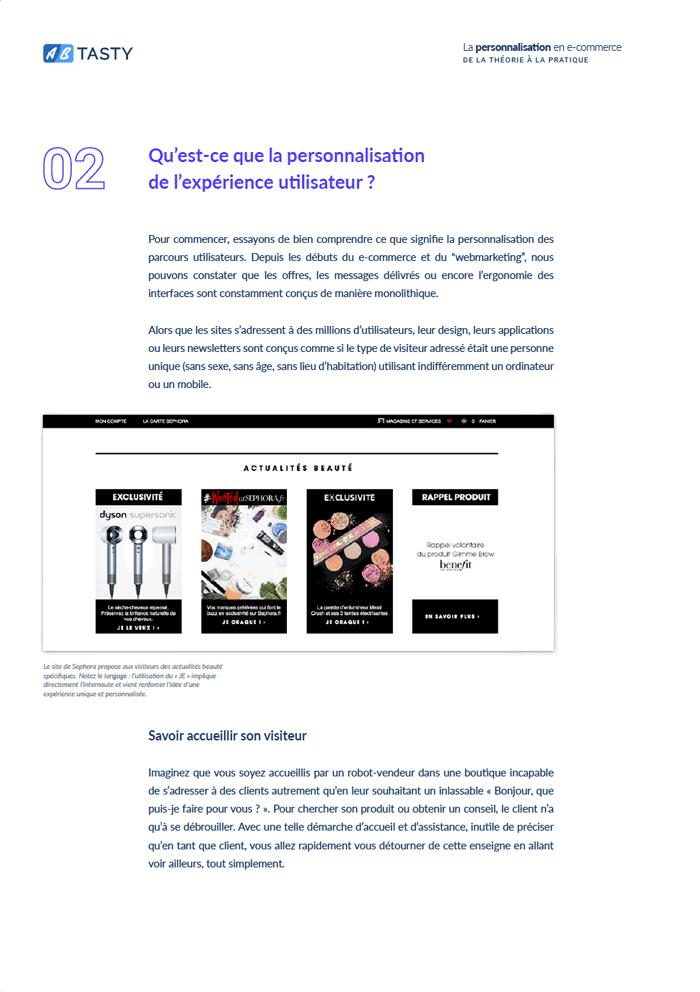 ebook personnalisation ecommerce extrait 2
