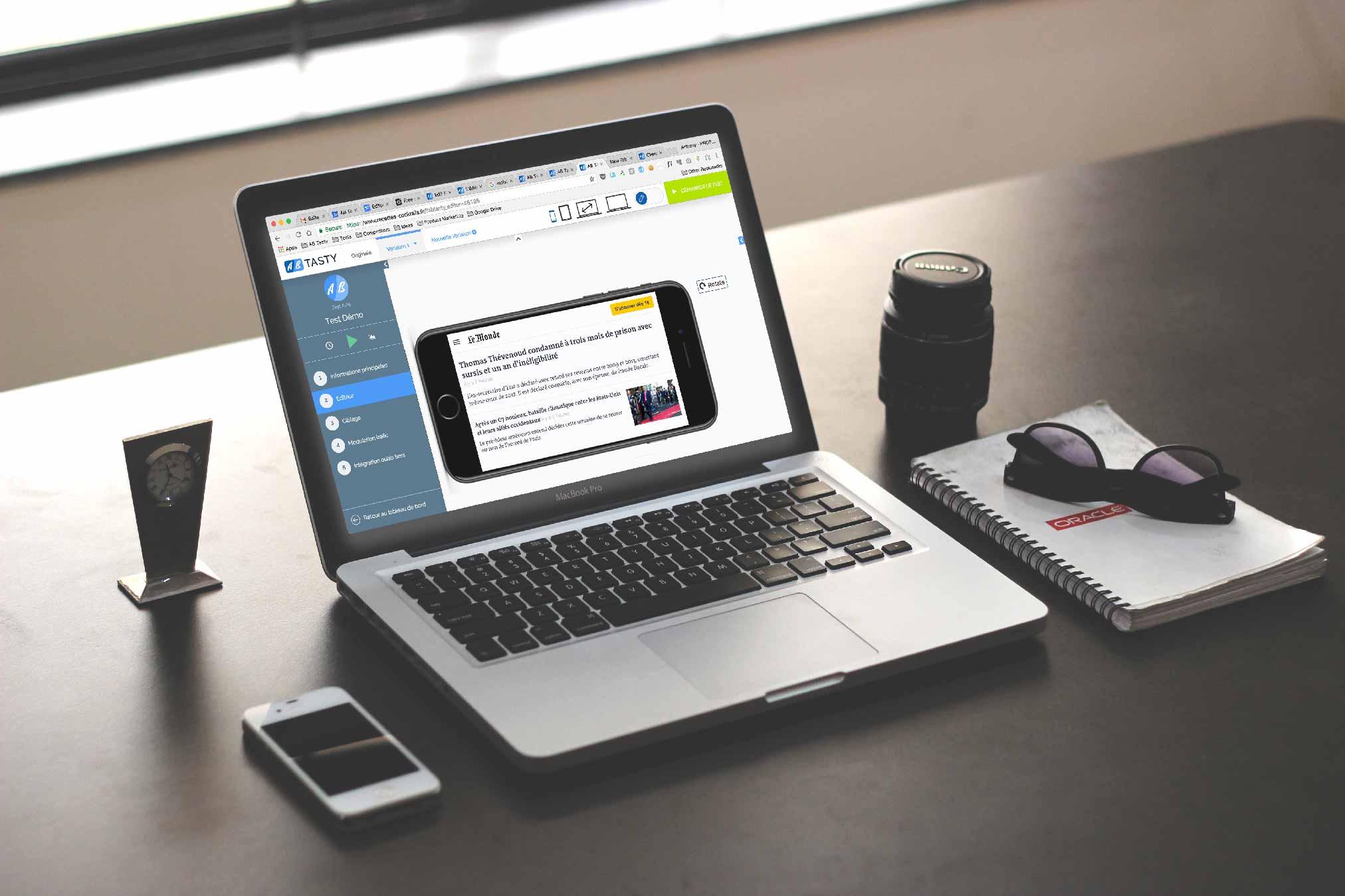 Thema auf der dmexco 2017: Der neue reponsive Editor