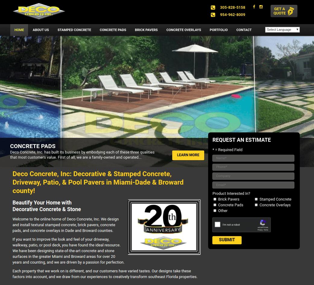 Website example halo effect