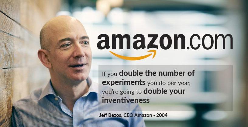 A/B testing en Amazon