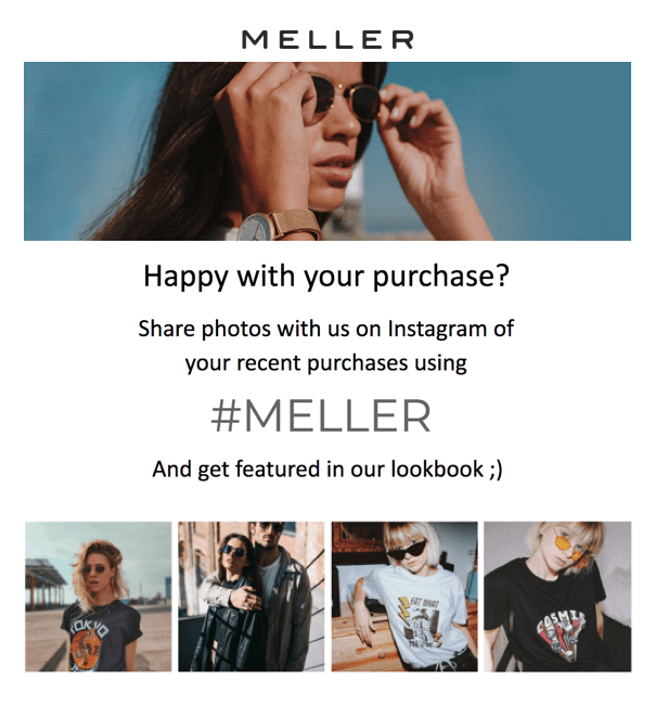 meller email example