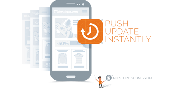 Mobile Push Updates Instantly