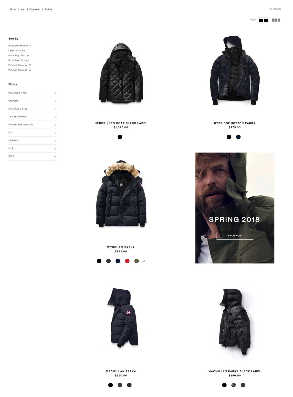 Ideale Anzahl an angezeigter Produkte auf einer E-Commerce Produktlistenseite