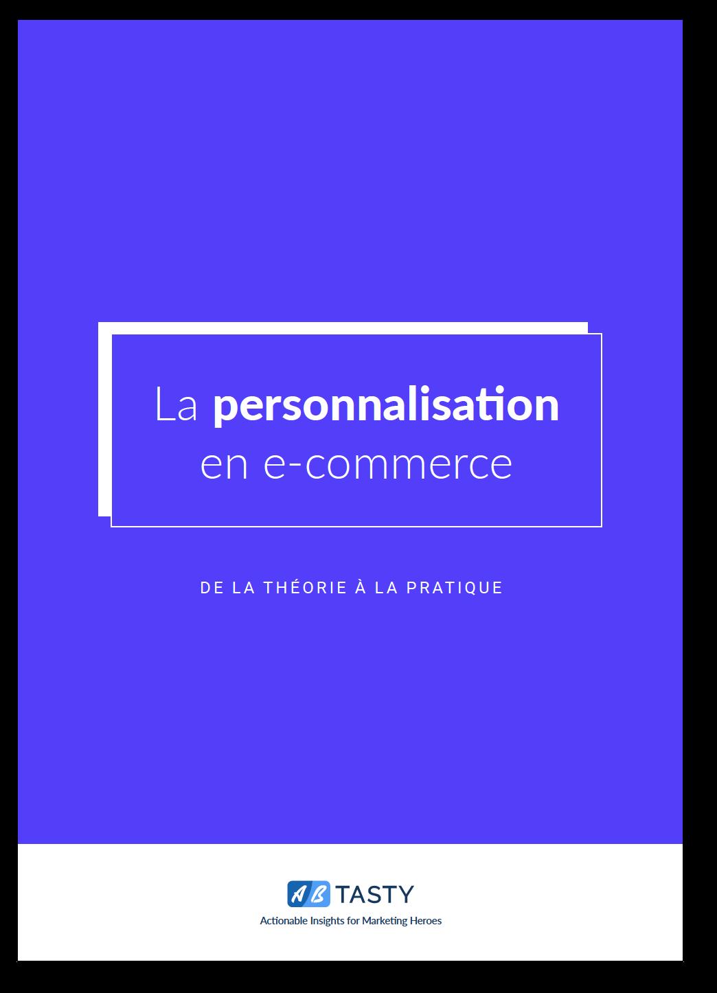 Ebook sur la personnalisation en e-commerce