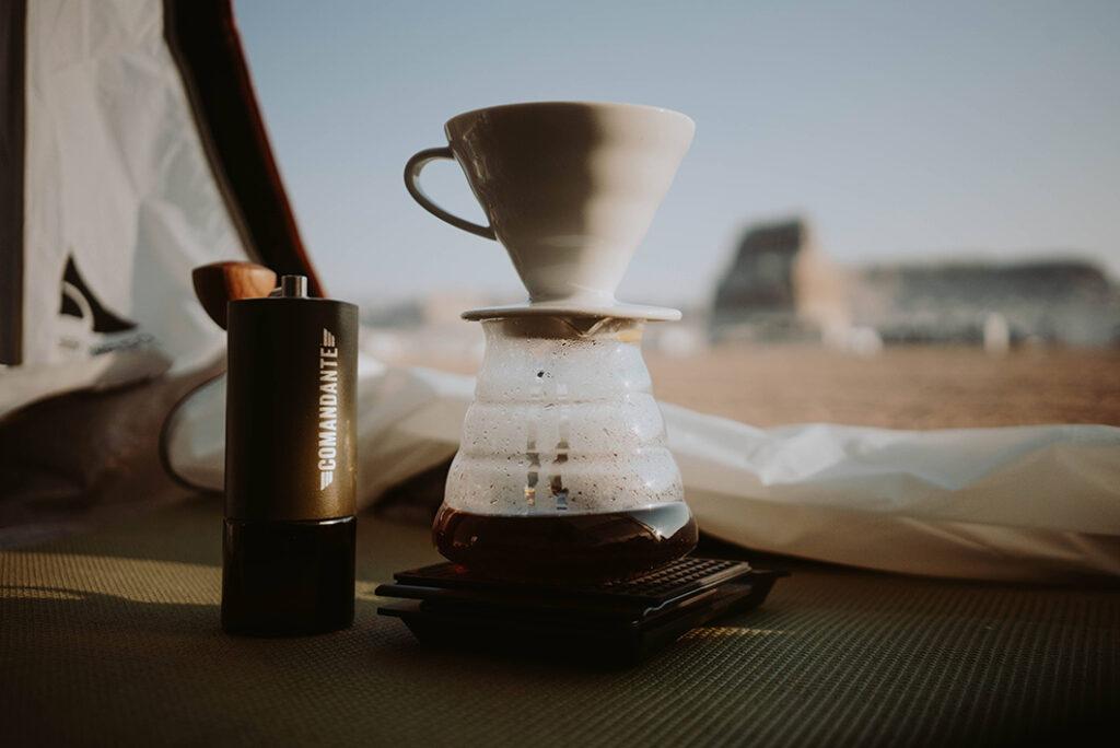 Coffee serveware, funnel
