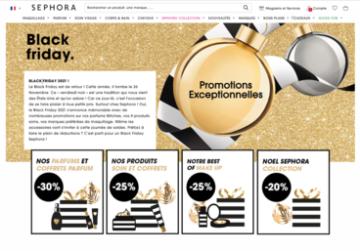 Sephora-Black Friday-Offres promo