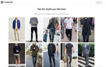 Thread homepage visually-rich approach