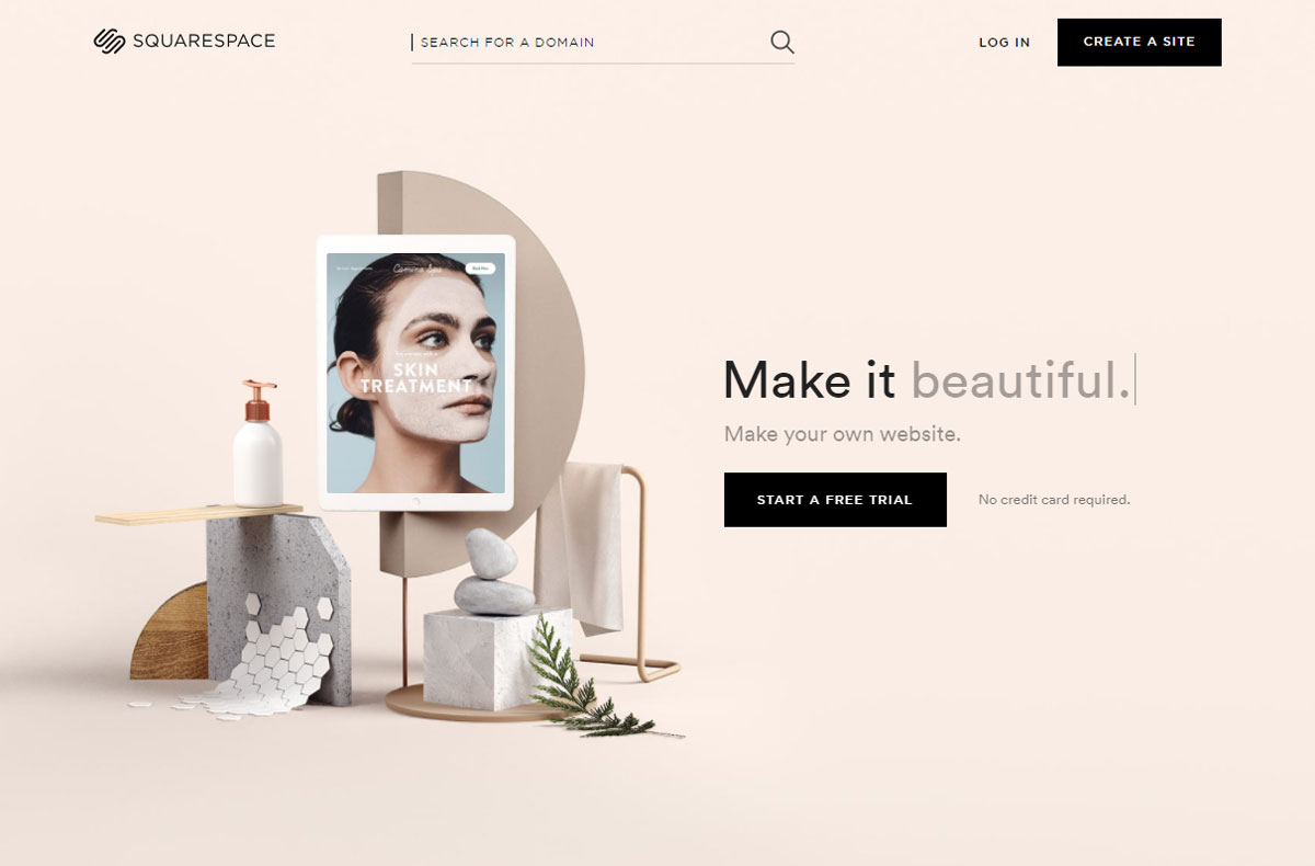 Call-to-action Squarespace