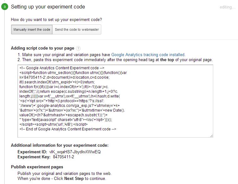tag-google-content-experiment