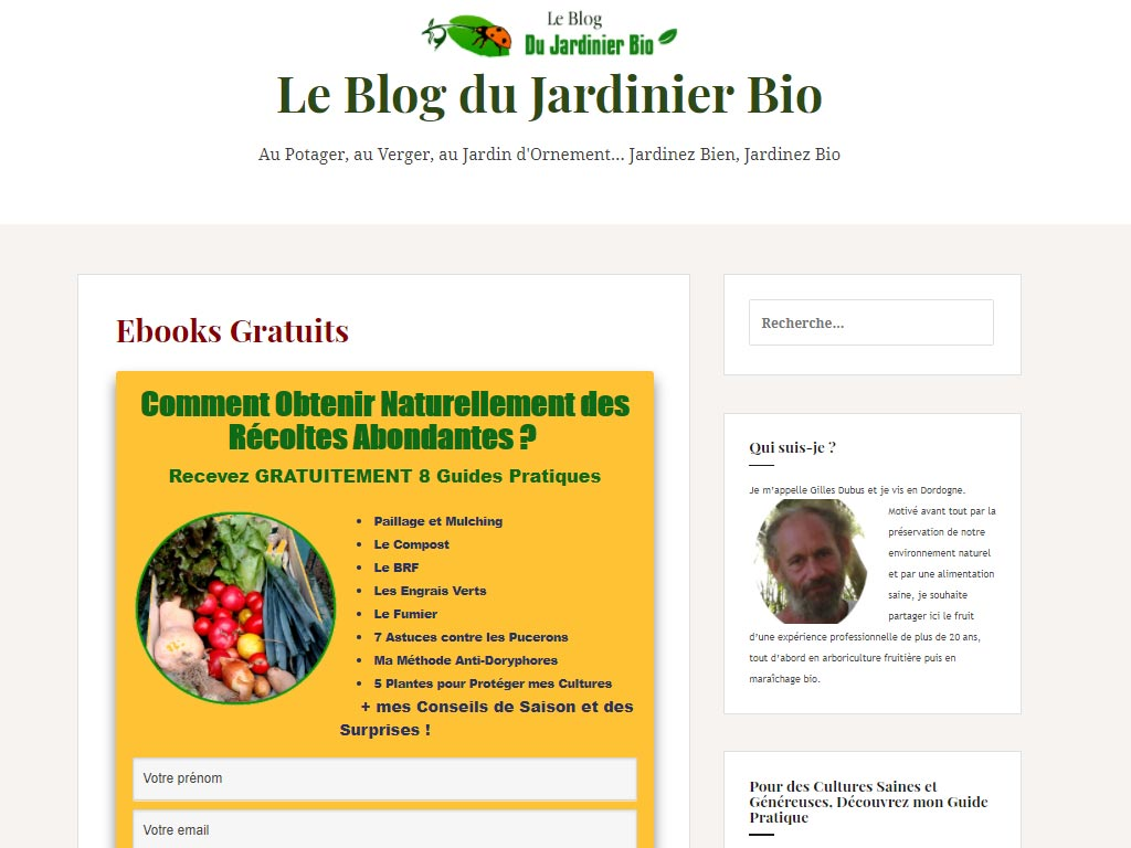 Tunnel de conversion pour Ebook