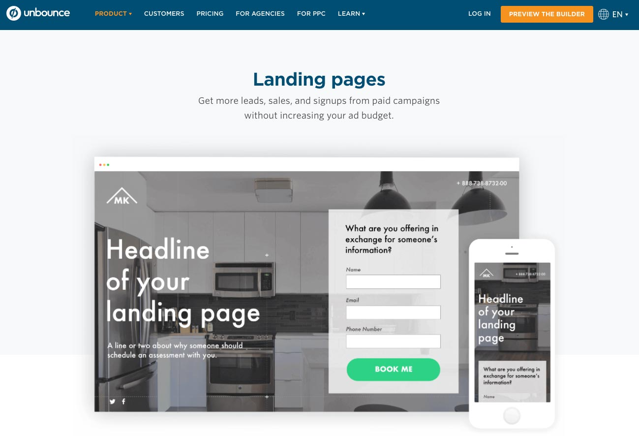 The Best Landing Page Builders And Softwares In 2018