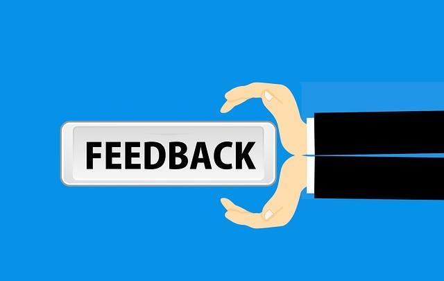 user satisfaction feedback