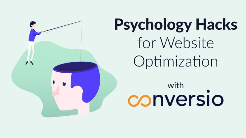 Webinar Psychology Hacks for Website Optimization